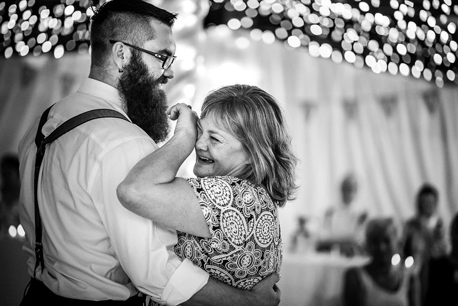 mom cries during first dance
